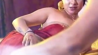 Indian new bride pornography accouterment 3