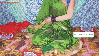 Bengali aunty in saree cheating upon husband's friend