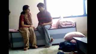 Indian Teacher Pupil Anal invasion Sex Fastening 4