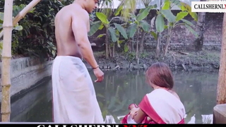 cheating Indian Bhabhi carnal knowledge photograph Big Naturals boos with an increment of ass