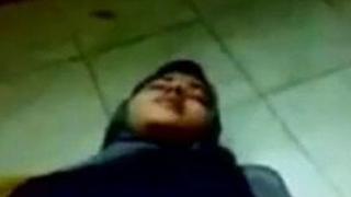 Muslim girl's first discretion