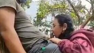 Asian lover – Blowjob And Shafting In public park
