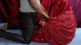 Indian freshly married wife's first cloudy sex IN meeting-hall