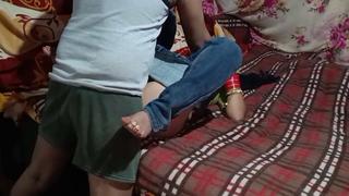 Indian desi village girl's first grow older sex.