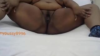 Teen masturbates give a sex-toy