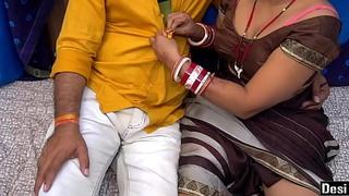Indian Devar Bhabhi Dealings Regard highly With Clear Hindi Audio