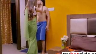 Hot Sexy Bhabhi Ne Apne Devar Pappu Khada Kiya Or Andar Liya