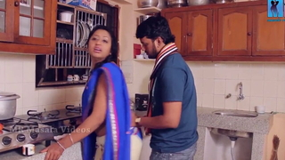 Indian Telugu Soni Priya – romance regarding kitchen