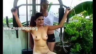 Bangalore Girl Hot Full Nude Gym Exercise