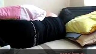 Innocent sleeping bhabhi fucked hard by muslim boyfriend in hotel