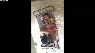 Jija Sali – hard shafting in courtyard