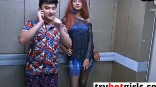 Hot Sexy Girl Ko Lift Me Pataya Or Room Me Bulake Kiya Sex