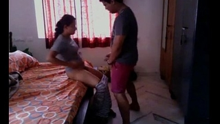 Desi voiced for indian suckle quickie with fellow-clansman go out of business cam