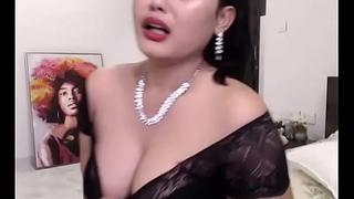 Indian Hot livecam unladylike enjoying her show (english)