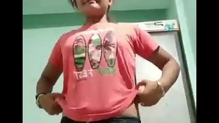 young indian girl in like manner everything
