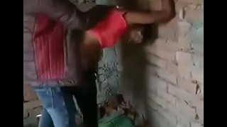 Indian shemale fucking outside with two lads