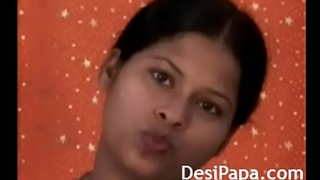 Indian School Girl In Black Lingerie Dancing In Bar
