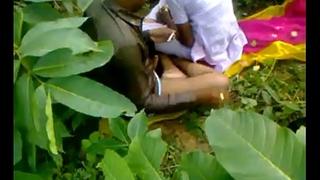 Indian school girl fucking school beside open-air sex