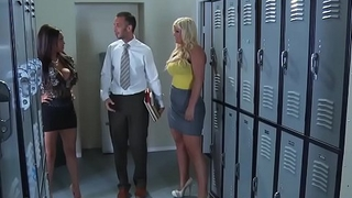 Milf Teacher (Priya Anjali) gets drilled renounce her bureau by Keiran Lee - Brazzers