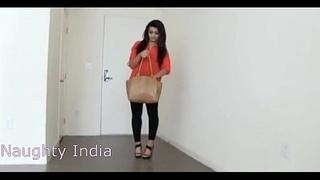 Twenty savoir faire old girl immigrant India Prankish threesome