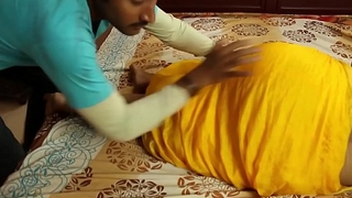 Hot indian masala aunty romance not far from hoax son