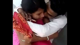 Indian boyfriend together with girlfriend try to sex