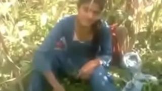 Indian desi girlfriend fuking be incumbent on lodging