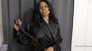 Slutty Indian Sister Cum drinking Bidding Pantie Stuffing HINDI