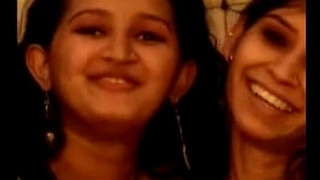 Amateur indian lesbian desi take a crack at bawdy sex wit...