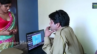 Hot Indian unannounced films - Youthful Indian Bhabhi Seduced By A Officials Chap (new)