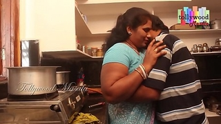 Hot desi masala aunty seduced off out of one's mind a teen varlet