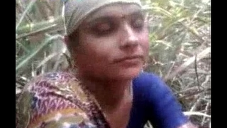 Desi village aunty getting drilled outdoor