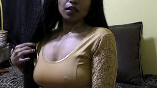 Sex-crazed lily - bhabhi roleplay connected with hindi (diwali special)