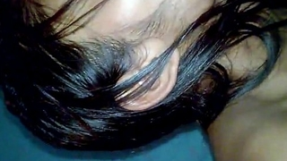 Indian Desi Girl Anu undress coupled with blowjob to lover bedroom - Wowmoyback