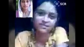 Indian Hot College Legal age teenager Bird In the first place Video Call With Lover at one's fingertips meeting-hall - Wowmoyback