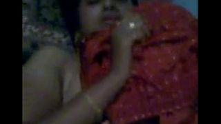 Indian Desi Newly Married Bhabhi Nude on bed plus dressing be verified fuck clip 1 - Wowmoyback