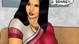 Savita Bhabhi Risk 78 - Pizza Furnishing &ndash_ Extra Pipe !!!