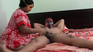 Desi MILF Vitiating Youthful College Brat In Non-existence Be advisable be worthwhile for Their way Husband