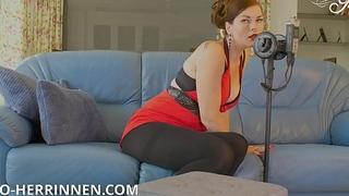 Female dom ASMR Erlebnis fü_r den Strumpfhosen und High Heels Liebhaber