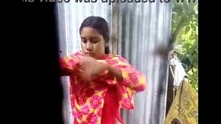 Through-and-through bangladeshi inseparable livecam hoover upon audio