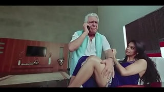 Om Puri and Mallika Sherawat Fucking Scanty Instalment - Hot Masala Scenes from Bollywood Movie Vulgar Civics - Oral