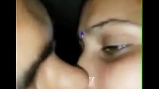Saveetha Bhabhi with Neighbour Boy Smooch n Blowjob