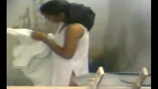 19 Year Old Indian Girl Watched Purifying