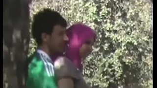 Couples Heads Horny Doiing Quicky convenient Park MMS-mc