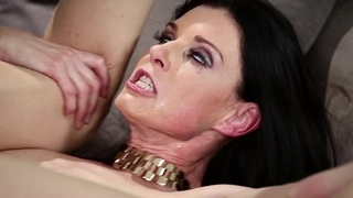 Russian beggar trapped in a crazy MILF'_s dwelling-place - India Summer