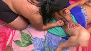 Indian Lesbian Bhabhi And Young Girl Hindi Sexual congress