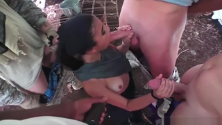 Open-air print blowjob xxx Home Away From