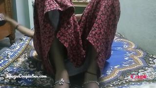 desi telugu indian regional couple wife naked drilled on floor