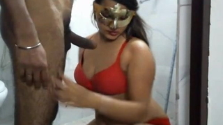 Anu go to the bathroom sex